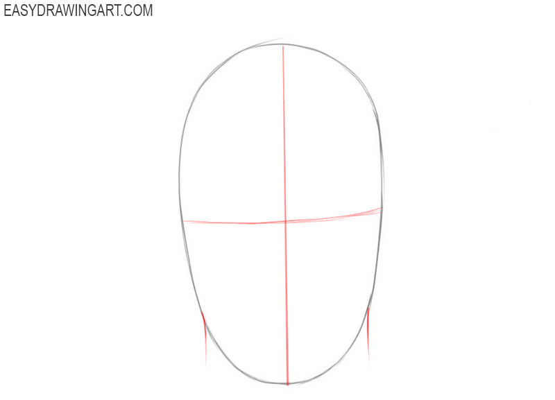 Face drawing lesson