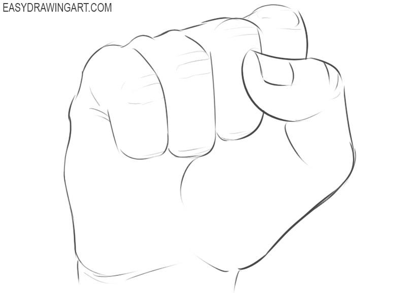 Fist drawing tutorial