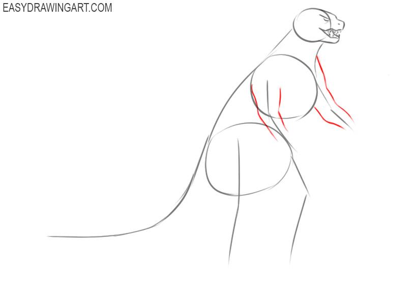 Godzilla drawing lesson