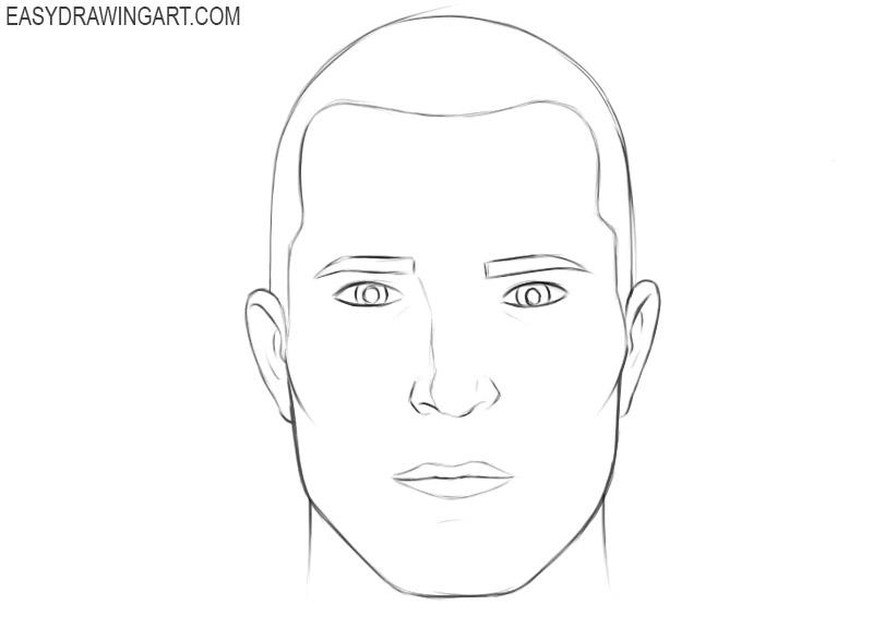 Head drawing tutorial