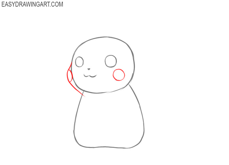 How do you draw Pikachu