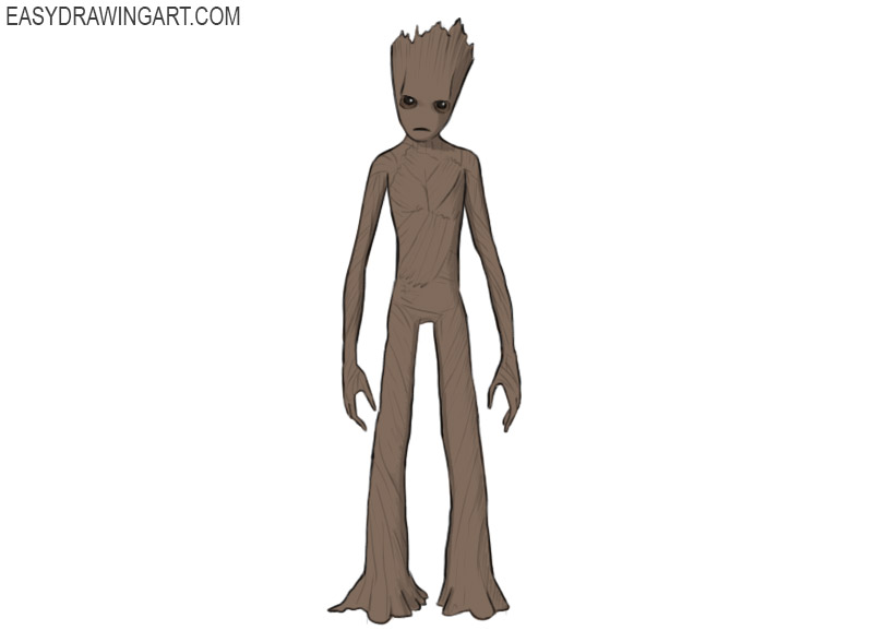 How to Draw Groot