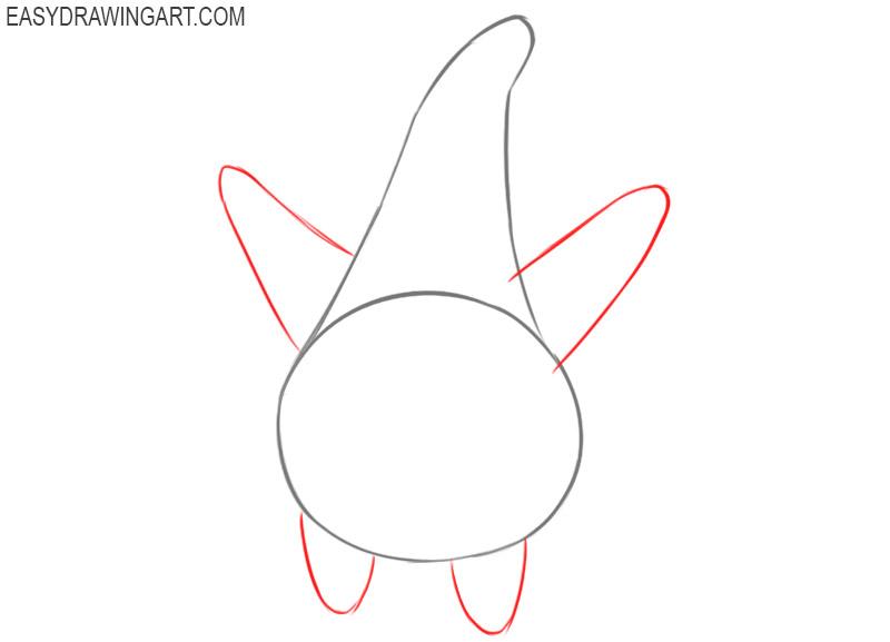 How to draw Patrick Star from Spongebob