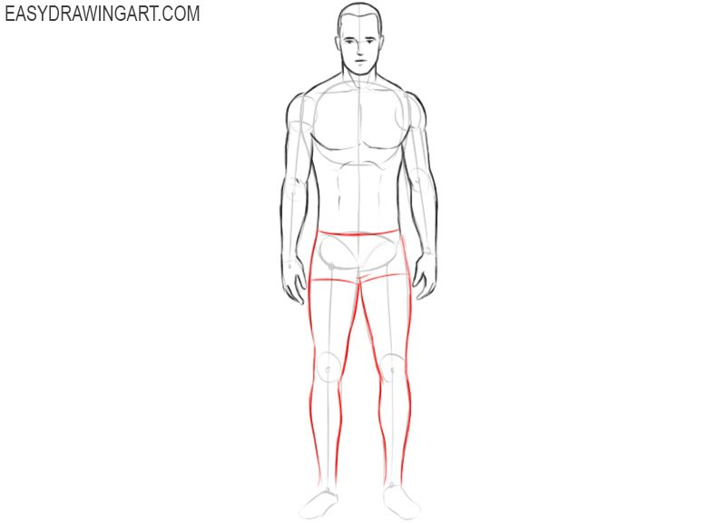 How to draw a body easy