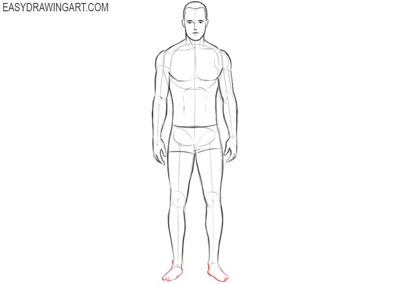 How to draw a body for beginners