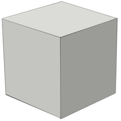 How to draw a cube