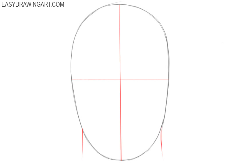 How to draw a head with a pencil