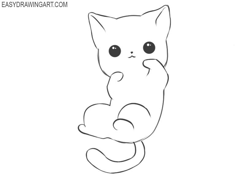 How to draw a kawaii animal
