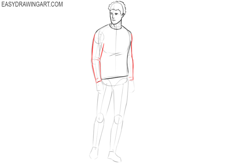How to draw a person advanced