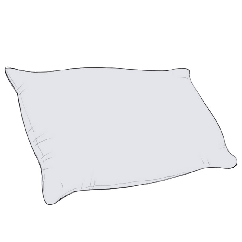 How to Draw a Pillow | Easy Drawing Art