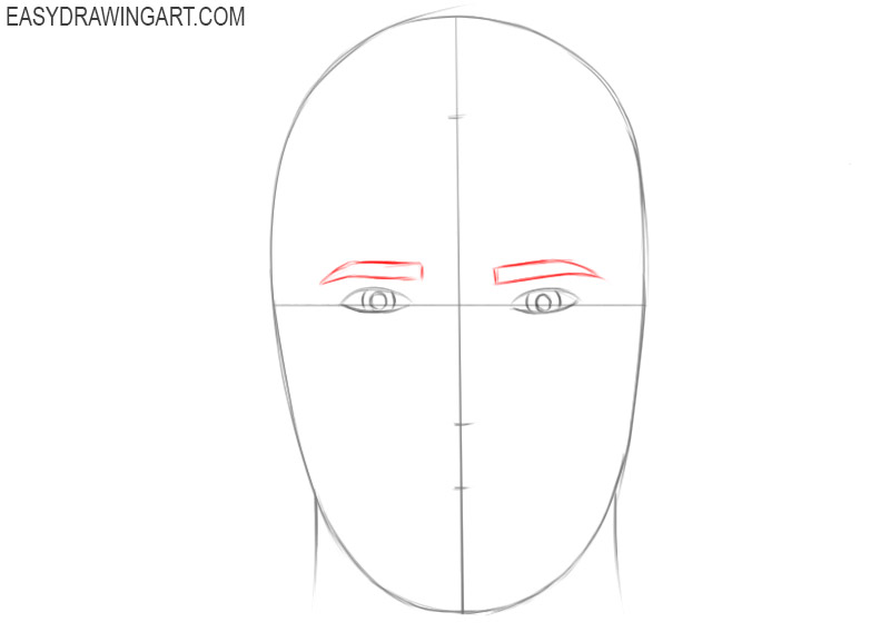 How to draw a realistic head