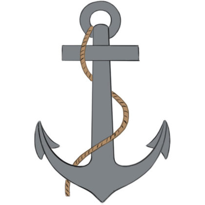 How to draw an anchor