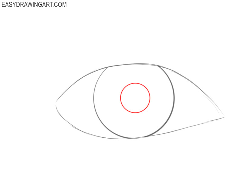 How to draw an eye step by step in pencil