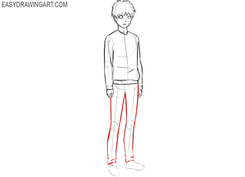 How to draw anime people