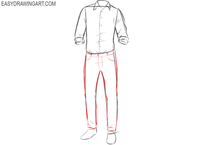 How to draw clothes for beginners