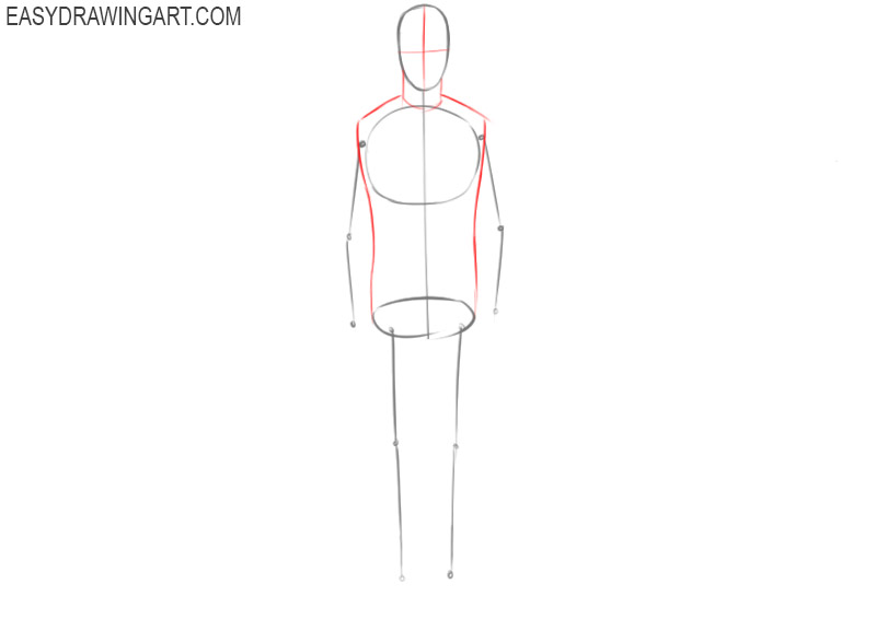 How to sketch a human
