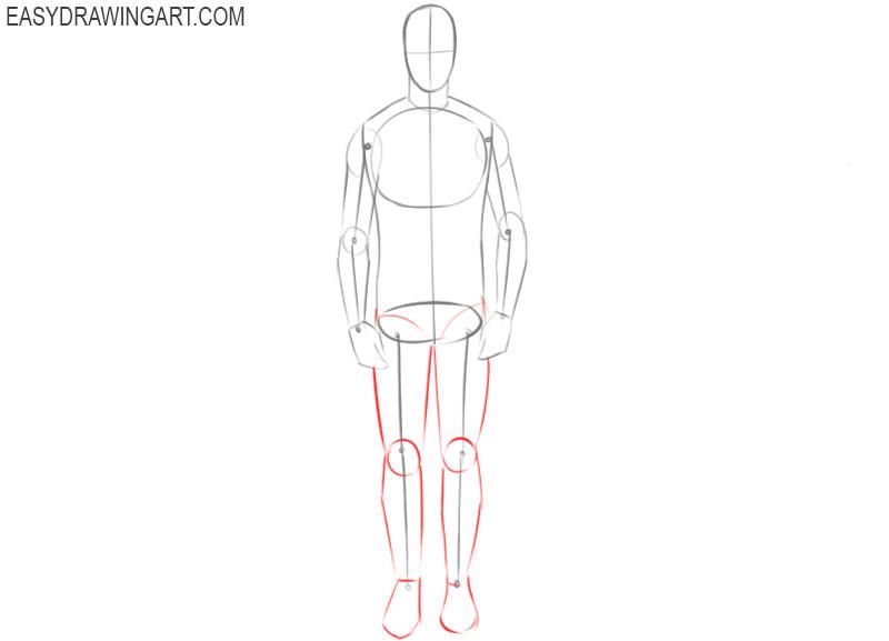 Human base drawing