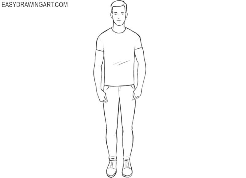 Human drawing tutorial