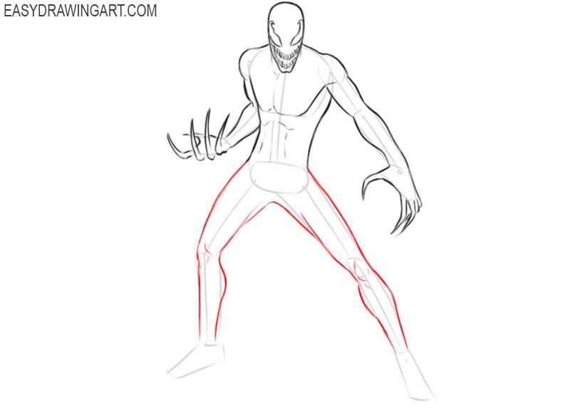 carnage drawing tutorial