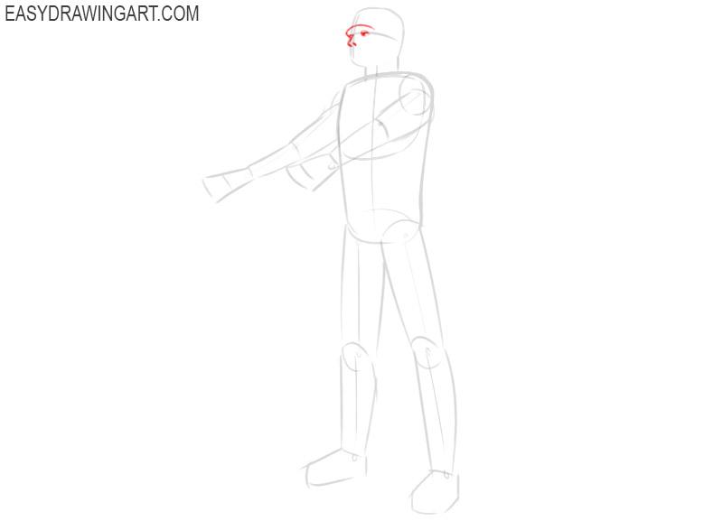 frankenstein drawing easy