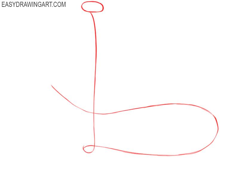 how to draw a cobra snake