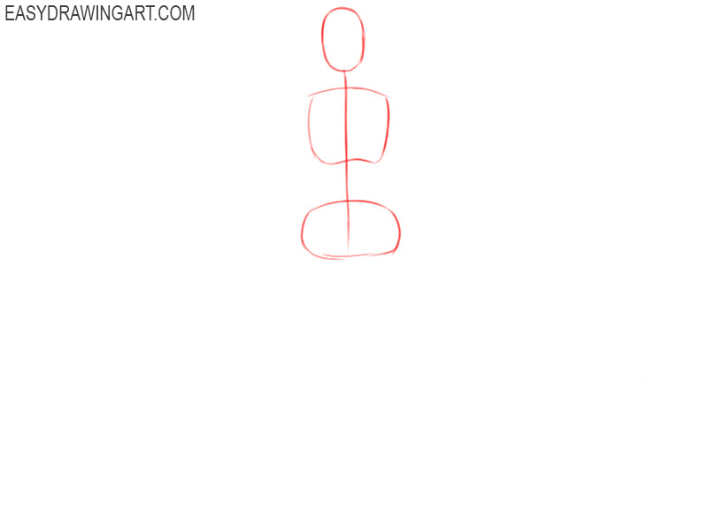how to draw a female body step by step