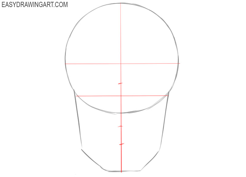 how to draw a skull easy for beginners