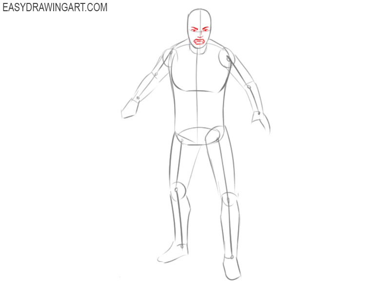 how to draw a vampire easy drawings