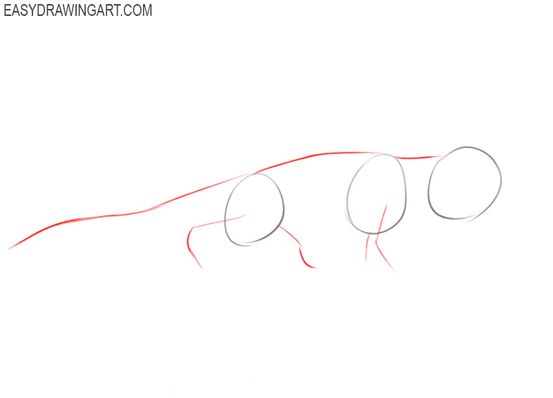how to draw an alligator easy step by step