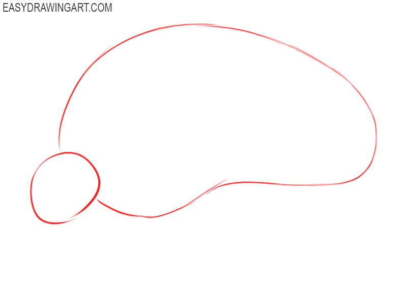 how to draw an armadillo easy