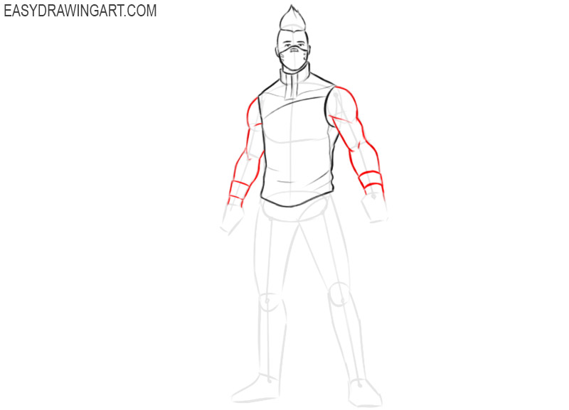 how to draw drift easy steps