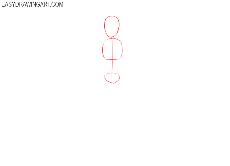 how to draw groot step by step