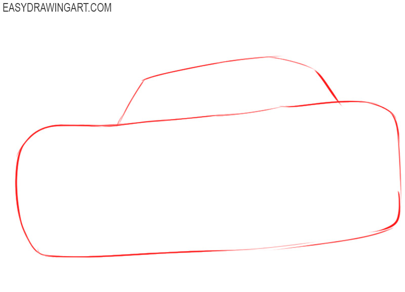 how to draw lightning mcqueen step by step easy