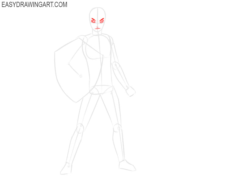 how to draw link imagenes