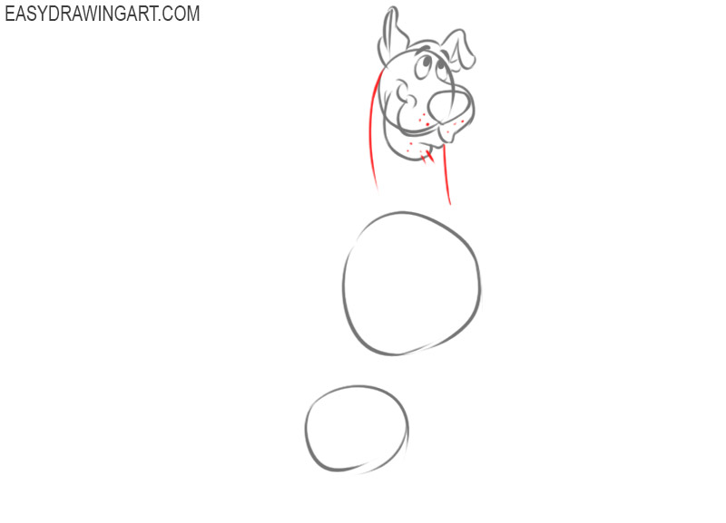 how to draw scooby doo characters step by step easy