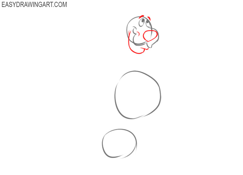 how to draw scooby doo step by step