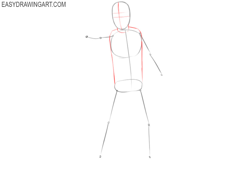 how to draw a stormtrooper simple