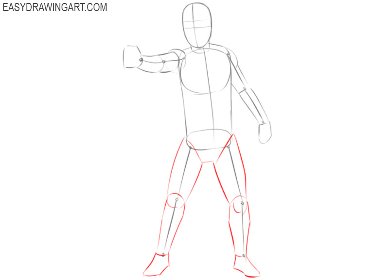 how to draw stormtrooper step by step