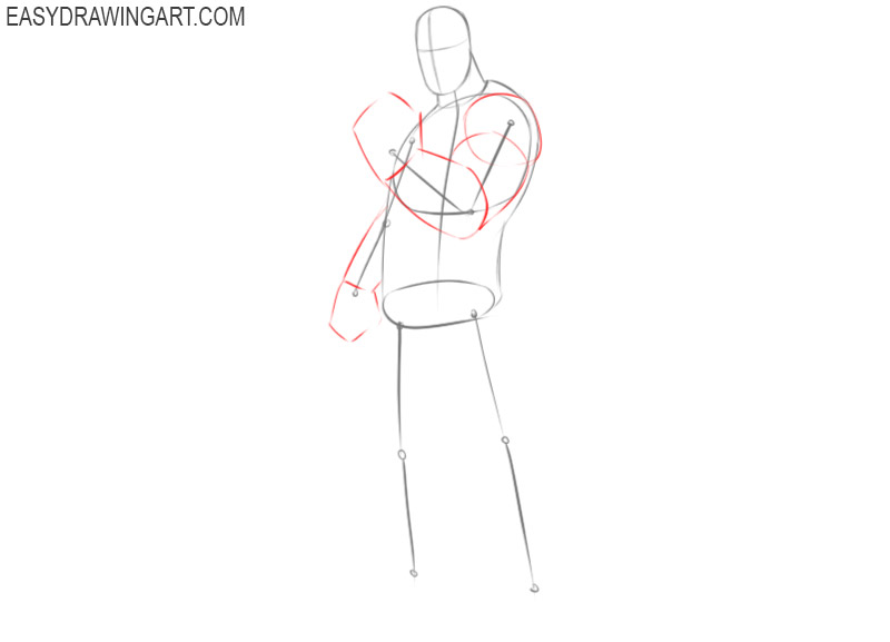 how to draw thanos glove easy