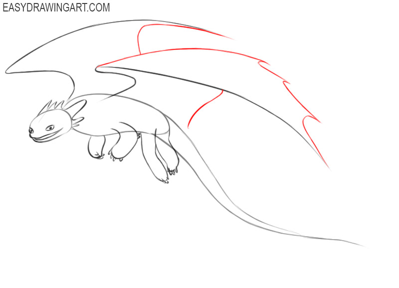 how to draw toothless draw so cute