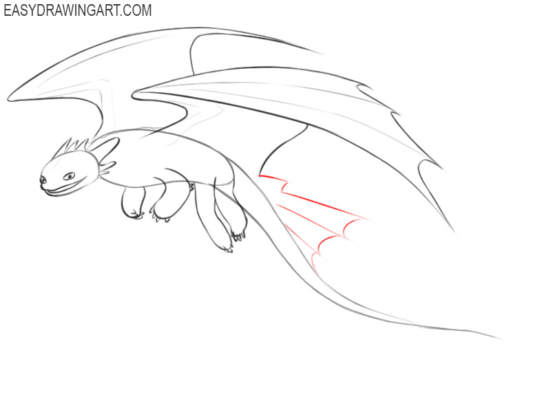how to draw toothless drawings