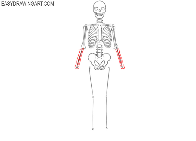 skeleton pictures to color