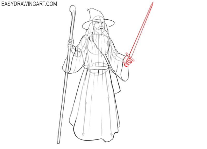 wizard base drawing