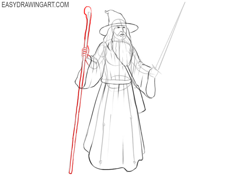 wizard drawing easy