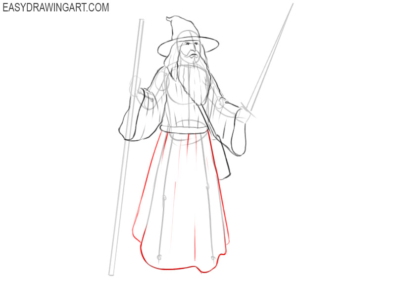 wizard drawing picture