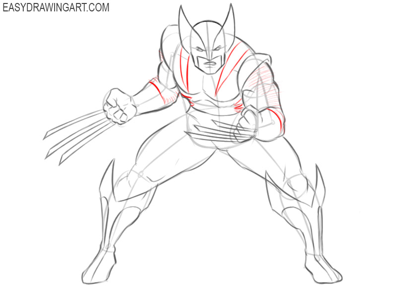 wolverine drawing images