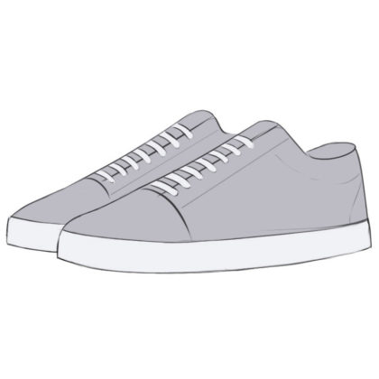 How to draw Sneakers