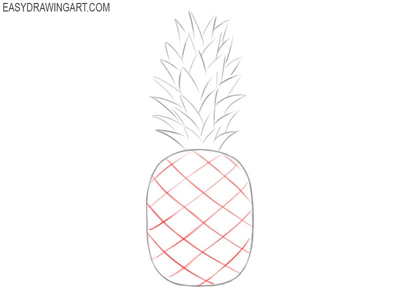 How to draw a fruit