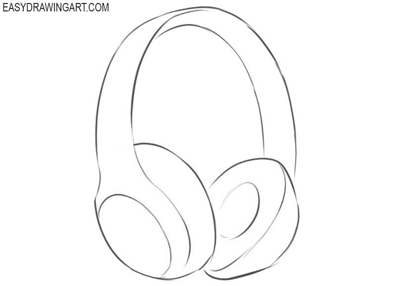 How to draw beats headphones