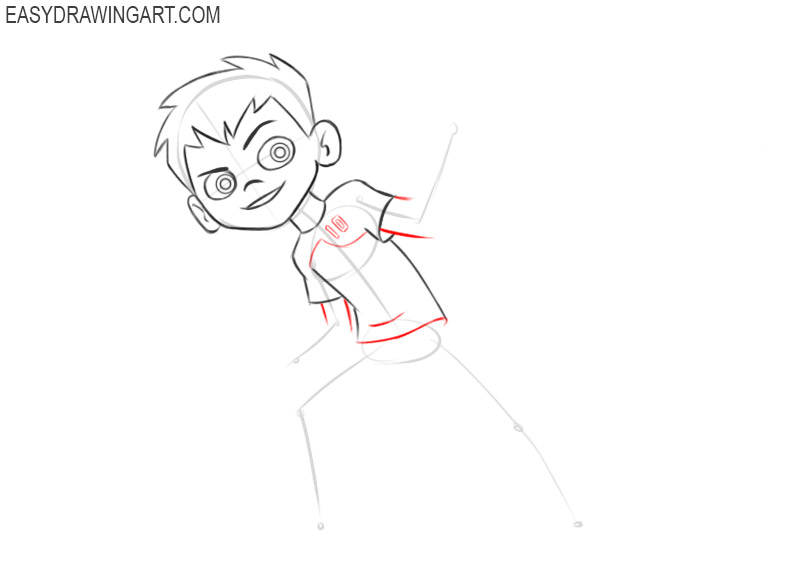 ben 10 drawing for beginners